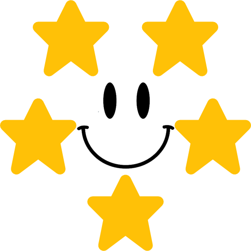 5-star review software step three icon